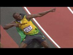 Athletics Men's 100m Final Full Replay - London 2012 Olympic Games - Usain Bolt so amazing!
