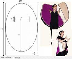 Oval coat pattern