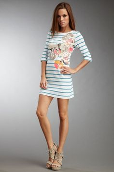This dress would be good inspiration to get back in shape after baby :)