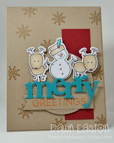 Merry Greetings by TreasureOiler - Cards and Paper Crafts at Splitcoaststampers