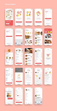 Happy Meals Food Delivery App UI Kit is a pack of delicate UI design screen templates that will help you to design clear interfaces for food delivery app faster and easier. Compatible with Sketch App, Figma & Adobe XD Ios App Design, Web Design, Android App Design, Iphone App Design, Mobile Ui Design, Site Design, Flat Design, Ui Kit, Ecommerce App