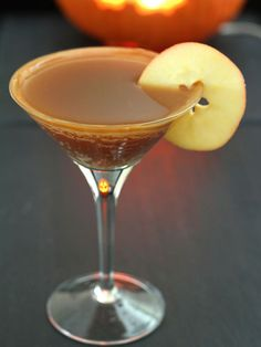 Caramel Apple Cider Martini