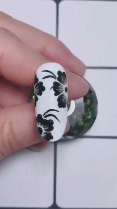 Cute Acrylic Nails, Gel Nail Art, Nail Art Diy, Gel Nails, Nail Nail, Nail Art Designs Videos, Nail Art Videos, Crazy Nail Designs, Square Nail Designs
