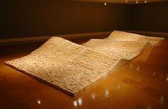 """Maya Lin - """"flow"""" Contemporary Ceramics, Contemporary Art, Maya Lin, Wonderful Things, Fiber Art, Flow, Environment, Interiors, Artists"""