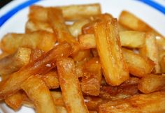 Triple Cooked Chips, Best Potato Recipes, Potato Puffs, Chips Recipe, Grubs, Onion Rings, Meal Prep, Carrots, Food Porn