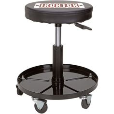 Ironton Pneumatic Shop Stool, perfect for working in the garage