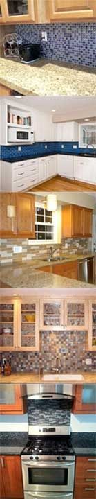 Kitchen backsplash ideas.