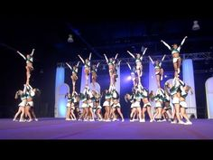 Coolest stunts ever!! - Cheer Extreme Senior Elite ROCKS THE CAPITOL! Feb 2013!