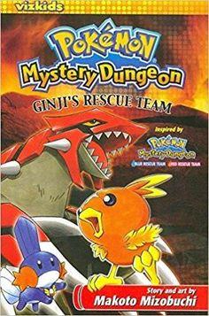 Used Pokemon Mystery Dungeon Ginji's Rescue Team English Manga