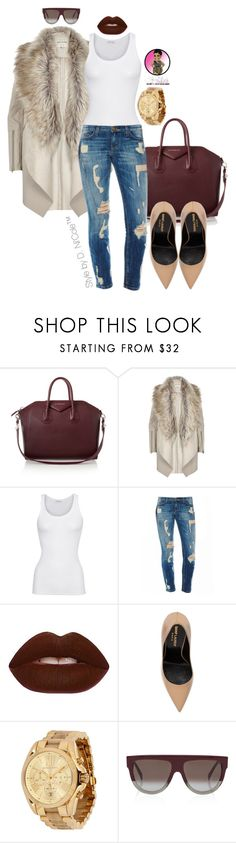 """""""Untitled #2856"""" by stylebydnicole ❤ liked on Polyvore featuring Mode, Givenchy, River Island, American Vintage, Lime Crime, Yves Saint Laurent, Michael Kors und CÉLINE"""