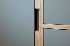 DETAIL | Plywood Cupboard Doors And Hidden Pull Handle #Detail #Plywood #UncommonProjects [ok]