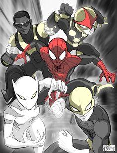 esta historia se basa en la serie de ultimate Spiderman y será un fan… #fanfic Fanfic #amreading #books #wattpad