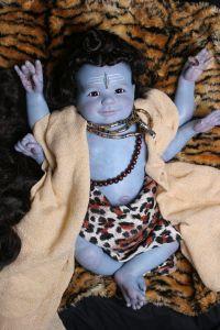Shiva Lingham. Reborned by Azita Gonzalez of Cosmic Encounters Nursery March 6, 2014.