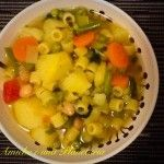 Minestrone con 10 verdure