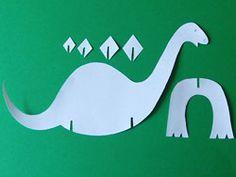 Dinosaurier basteln