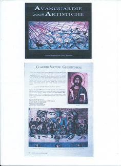 """Anuar """"AVANGUARDIE ARTISTICHE 2008"""", pagina 852,editat de CENTRO DIFFUSIONE ARTE EDITORE,Palermo, Italia, 2008. Astazi revista BOE si Anuarul sunt editate de : http://www.effettoarte.com/"""