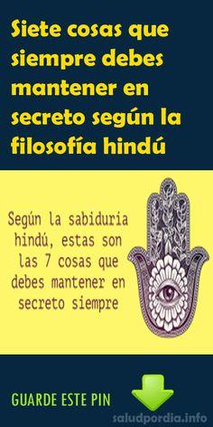 Siete cosas que siempre debes mantener en secreto según la filosofía hindú - Salud por Día