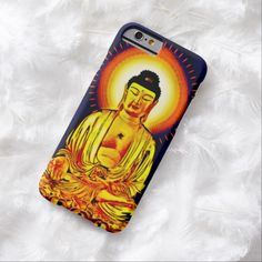 Glowing Buddha Airbrush Art iPhone 6 Case by Wraithe Designs.