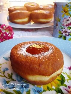 Hungarian Recipes, Sweet Bread, Bagel, Doughnut, Donuts, Cake Recipes, Cooking Recipes, Favorite Recipes, Sweets