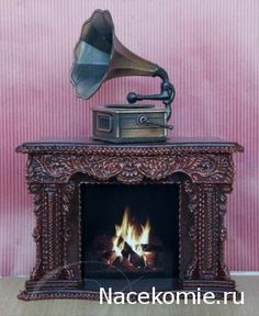 how to: embellished fireplace