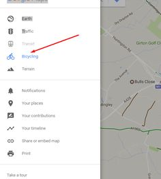 How to Create a Circular Bike Route on Google Maps Cycling Tips, Fit Motivation, Maps, Road Bikes, Junk Drawer, How To Plan, Ecology, Phone, Biking