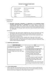 38 Rpp 1 Lembar Smk Produktif Background Biologi Kurikulum Belajar