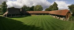 Lains Barn Wedding Venue in Oxfordshire, UK.  This is where we got married :)