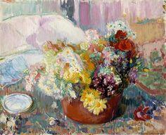 Magnus Enckell  - Flowers