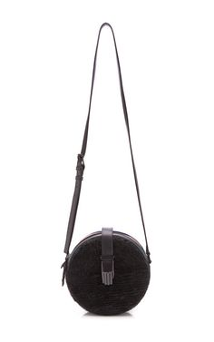 Black Roni Circle Bag by Opening Ceremony for Preorder on Moda Operandi