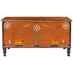 Centre County Pennsylvania Painted Poplar Dower Chest For Sale Furniture Near Me, Small Bedroom Furniture, Painted Furniture, Furniture Nyc, Modern Furniture, Outdoor Furniture, Antique Pine Furniture, Primitive Furniture, Pennsylvania
