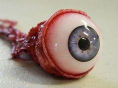 Ripped Out Eyeball - BLUE Halloween Supplies, Thing 1, Blue, Practical Jokes, Artwork Ideas, Sfx Makeup, Makeup Inspiration, Norman, Goth
