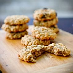 Vegan, gluten-free, oatmeal choc chip cookies