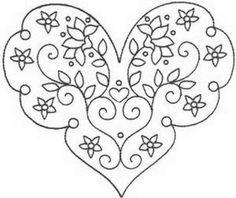 Corações, namorados e outras imagens para Dia dos Namorados do St.. | Embelezar o mundo com suas próprias mãos