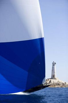 Sailing... lighthouse.... heaven :)
