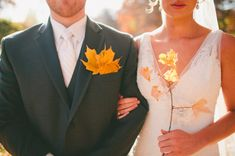Unique Touches for Your Autumn Wedding