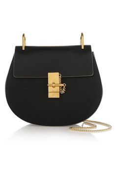 It Bags - The 10 Most Lustworthy It Bags for Fall - Elle | Chloé Drew Leather Shoulder Bag, $1,750; net-a-porter.com
