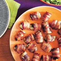 Devils on horseback are the perfect party appetizer- salty, cheesy, and sweet all in one bite!