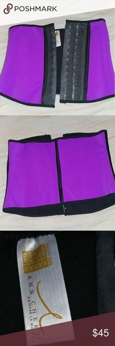 Ann Chery waist trainer Purple Ann chery waist trainer in good condition, tag reads USA size 34 Ann Chery Other