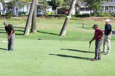 Summer 2016: Putting it at the Summer Semester Tournament. #Golf #GolfCollege #PGCCGolf