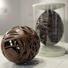What? Very cool chocolate easter egg
