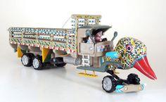 Caminhão tanglassu, 28x82x21 cm