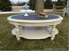 Attractive Neutral Coffee Table