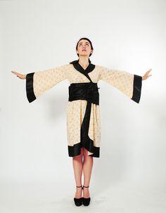 20s Kimono Robe - 1920s Lingerie - Anna May Wong
