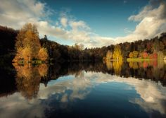 Autumn Reflections In The Lake