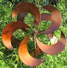 Tatton Burnished Gold wind spinner by Jonart Design