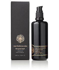 May Lindstrom Skin The Good Stuff the remarkably sexy, gently whimsical, liquid sunshine radiance oil available at Spirit Beauty Lounge along with the rest of the May Lindstrom collection.
