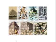 This 20 page booklet allows students to discover and explore the original seven wonders of the world though individual and group activities. New Seven Wonders, Wonders Of The World, Mausoleum At Halicarnassus, Komodo Island, Great Pyramid Of Giza, Christ The Redeemer, Iguazu Falls, Pyramids Of Giza, Great Wall Of China