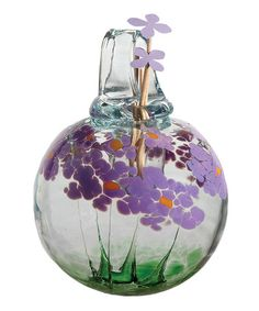Look what I found on #zulily! Purple Best Wishes Kitras Blossom Hanging Diffuser #zulilyfinds