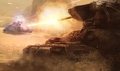 Halo: Spartan Assault Artwork (Scorpion Vs. Wraith)