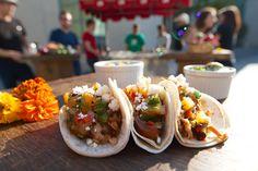Delectable Delicious  Fishtacos From Rasta  Taco